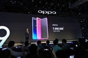 OPPO F9 công nghệ VOOC sạc 5 phút liên lạc 2 giờ