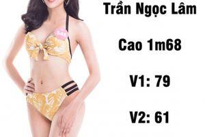 Loạt người đẹp Hoa hậu VN có vòng 1 khiêm tốn nhưng đủ chuẩn đẹp mới