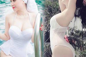Hot girl Ivy - vợ cũ Hồ Quang Hiếu khẳng định vòng 1 đẹp tự nhiên