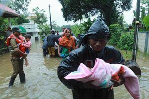 Khủng khiếp mưa lũ tại Ấn Độ, hơn 100 người chết