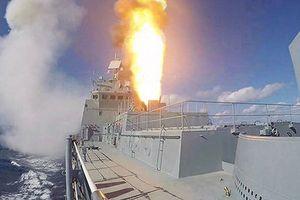 Nga phóng tên lửa Kalibr từ tàu khu trục 'Đô đốc Grigorovich'