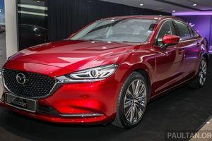 Mazda 6 phiên bản nâng cấp đẹp sắc sảo ra mắt thị trường Đông Nam Á