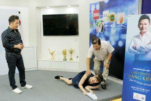 Bằng Kiều cùng đôi danh hài Vân Dung Quang Thắng ráo riết tập luyện trước thềm live show