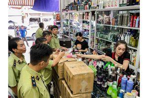 Bắt giữ 65 thùng mỹ phẩm không rõ nguồn gốc của ông chủ ở Hải Phòng