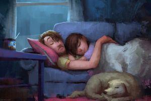 Bộ tranh khiến bạn tan chảy vì sự lãng mạn của tình yêu