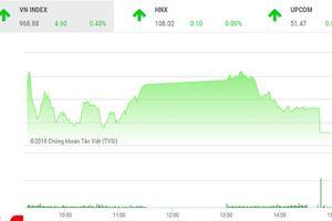 Thị trường lên điểm, giao dịch sụt giảm
