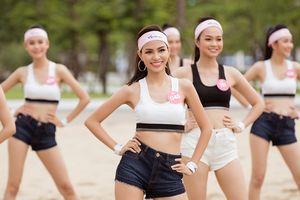 Dàn thí sinh Hoa hậu Việt Nam 2018 tự tin khoe eo thon, vẻ đẹp khỏe khoắn