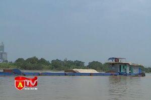 Đảm bảo an toàn cho các phương tiện thủy khi nước sông Hồng dâng cao do mưa bão