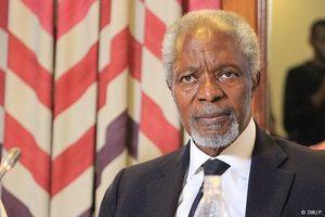 Cựu Tổng Thư kí Liên Hợp Quốc Kofi Annan qua đời ở tuổi 80