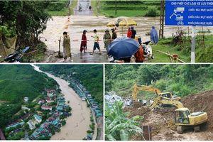 Vừa hết lo về bão số 4, các địa phương lại khốn đốn vì nước lũ