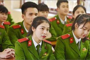 Nhiều trường công an, quân đội xét tuyển nguyện vọng bổ sung