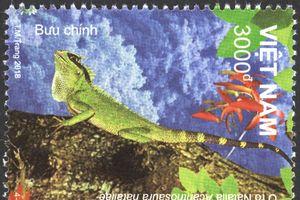 Phát hành đặc biệt bộ tem 'Động vật Vườn Quốc gia Kon Ka Kinh'