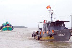 Tàu cá Bình Thuận cùng 5 lao động bị mất liên lạc trên biển