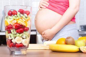 Nên ăn những loại trái cây nào khi mang thai?