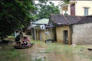 Thanh Hóa: Hàng nghìn hộ dân phải sơ tán do mưa lũ