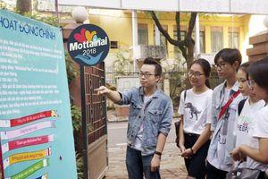 Gần 100 bạn dự tuyển tình nguyện viên Chương trình Mottainai 2018