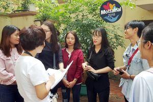 Nam sinh rủ hơn chục bạn nữ dự tuyển tình nguyện viên Mottainai 2018