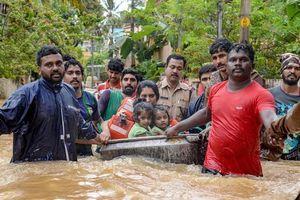 Lũ bất thường ở Ấn Độ làm 324 người thiệt mạng