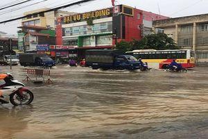 Thái Nguyên: Bão số 4 gây mưa lớn và ngập úng cục bộ nhiều tuyến đường