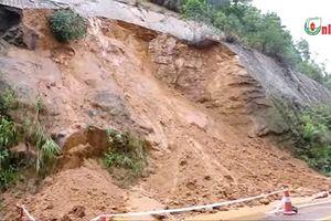 Mưa lớn gây sạt lở nghiêm trọng ở Thái Nguyên