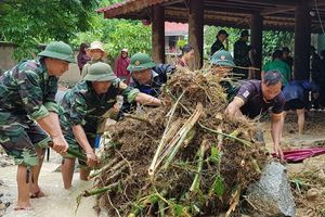 BĐPB Thanh Hóa tích cực giúp nhân dân khắc phục thiệt hại do bão số 4