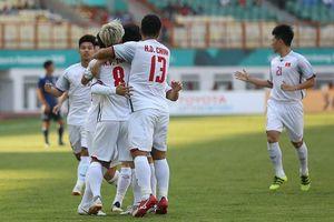 Thắng tối thiểu Nhật Bản, Olympic Việt Nam giành vị trí đầu bảng
