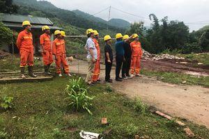 Tổng công ty Điện lực Miền Bắc khắc phục sự cố lưới điện do ảnh hưởng của bão số 4