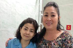 Hình ảnh diễn viên Mai Phương trong bệnh viện chữa ung thư phổi