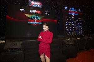 Lan Khuê làm giám khảo cuộc thi thể hình quốc tế