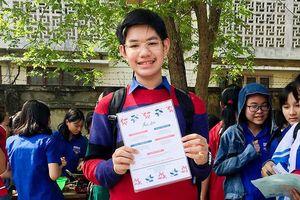 Học trò lớp 10 Quảng Ngãi giành học bổng toàn phần tại Mỹ