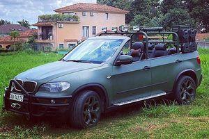 SUV hạng sang BMW X5 độ mui trần độc nhất Việt Nam