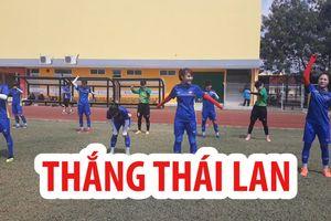 Đội tuyển bóng đá nữ Việt Nam tìm phương án đánh bại Thái Lan