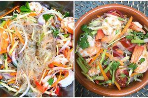 Gỏi miến hải sản vừa ngon vừa giúp giảm cân
