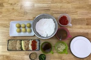 Công thức làm bánh nướng nhân thập cẩm đơn giản nhất