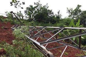 Sơn La: Khẩn trương sửa chữa cột điện 110kV bị gãy đổ sau bão số 4