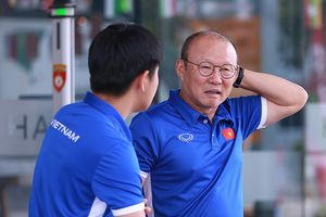 Olympic Việt Nam đấu Nhật Bản, HLV Park Hang Seo giữ sức cho trụ cột