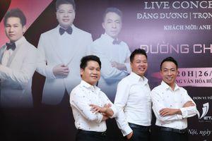 Live show tam ca Trọng Tấn - Đăng Dương - Việt Hoàn 'cháy vé'