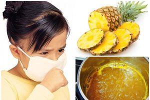 Cách làm siro dứa trị ho long đờm cho trẻ em hiệu quả theo tư vấn của chuyên gia