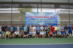48 vợt thủ tranh tài Giải Tennis Công đoàn Bộ LĐ-TB&XH 2018