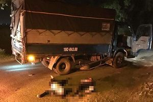Va chạm với xe tải, hai anh em sinh đôi gặp nạn nghiêm trọng