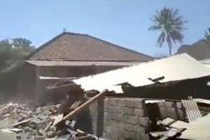 Đảo Lombok, Indonesia lại rung chuyển vì động đất