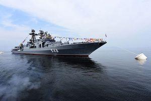 Tàu chiến của Hạm đội Thái Bình Dương sắp diễn tập khả năng chống ngầm