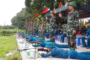 Tập trung lãnh đạo, nâng cao chất lượng công tác quân sự, quốc phòng địa phương