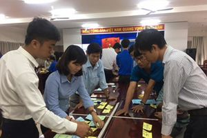 Tập huấn kiến thức về đổi mới sáng tạo và khởi nghiệp cho Đoàn thanh niên các trường THPT