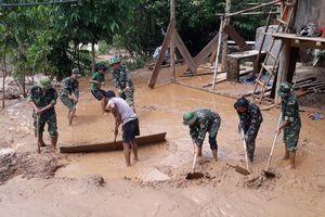 2 xã Mường Típ và Mường Ải khẩn trương khắc phục hậu quả mưa lũ