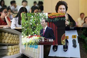 Kỷ niệm trọng thể 130 năm Ngày sinh Chủ tịch nước Tôn Đức Thắng; Đứt cáp cẩu trục dự án The Sun Mễ Trì