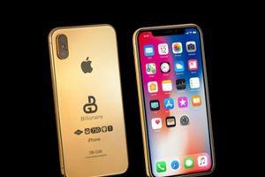 'Soi' iPhone X 2018 mạ vàng 18k chuẩn bị ra mắt giá 3 tỷ đồng