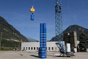 Hệ thống công nghệ tích trữ điện bằng bê tông