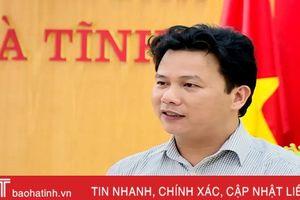 Chủ tịch UBND tỉnh nghe báo cáo Đề án 'Mỗi xã một sản phẩm tỉnh Hà Tĩnh'
