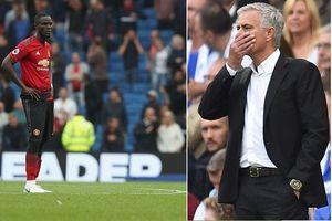 Man Utd thua sốc, Man City chiếm ngôi đầu bảng